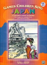 Games Children Sing ... Japan Book and Audio CD