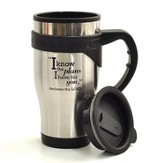 For I Know the Plans Travel Mug