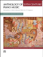 Anthology of 20th Century Piano Music