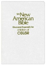 NAB Children of Color Bible, White                         - Slightly Imperfect