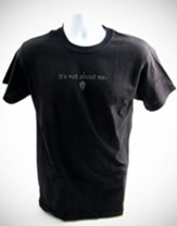 It's All About Him T-Shirt, Black, X-Large (46-48)