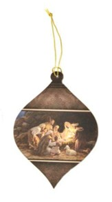 Blank, Nativity Ornament, Clearance