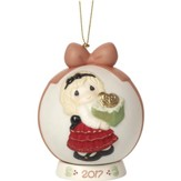 Precious Moments 2017 Ball Ornament