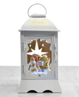LED Musical Lantern with Rotating Angels
