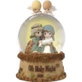 Oh Holy Night, Precious Moments Nativity Waterball
