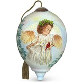 Winter Guardian Angel Ornament