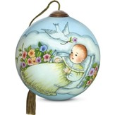 Blessing For Baby Ornament