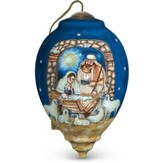 Sleep In Heavenly Peace Nativity Ornament