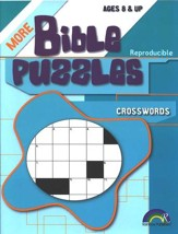 More Bible Puzzles: Crosswords (Ages 8 & Up)
