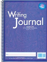 Zaner-Bloser My Writing Journal, Liquid Purple Grades 3-4