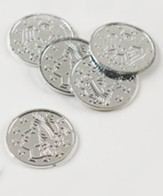 Silver Coins, package of 100