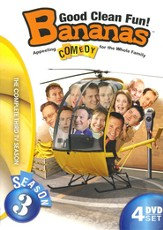 Bananas: Good Clean Fun! Season 3, 4 DVDs