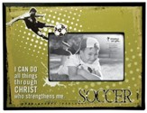 I Can Do All Things, Soccer Photo Frame