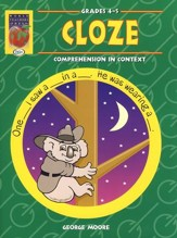 Cloze: Comprehension in Context, Grades 4-5