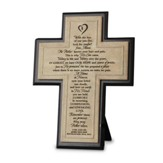 Remember--Cast-Stone Memorial Cross