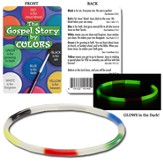 The Gospel Story by Colors Glow-in-the-Dark Bracelet