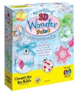 Sparkling 3-D Wonder Paint Ornaments