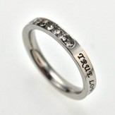 True Love Waits Ring, Size 9
