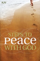 Steps to Peace with God (KJV), Pack of 25 Tracts