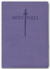 KJVer (Easy Reader) Large Print Sword Study Bible, Personal Size, Ultrasoft Purple, Thumb Indexed