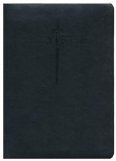 KJV Large Print Sword Study Bible, Ultrasoft Black