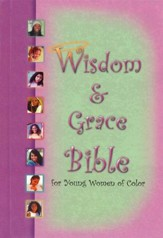 KJV Wisdom & Grace Bible for Young Women of Color-- Hardcover - Slightly Imperfect