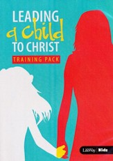 Leading A Child To Christ Training Pack with DVD-Rom