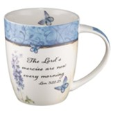 The Lord's Mercies Are New Every Morning, Butterflies Mug