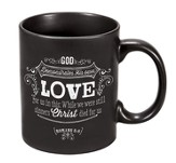 God Demonstrates His Own Love, Chalkboard Mug