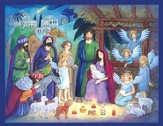 Candlelight Nativity Advent Calendar
