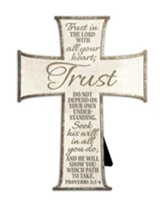 Trust In the Lord With All Your Heart Cross