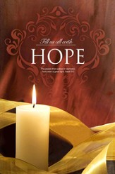 Fill Us with Hope (Isaiah 9:2) Advent Bulletin #1, 100