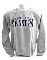 Blessed to Be a Grandpa, Sweatshirt, XX-Large (50-52)