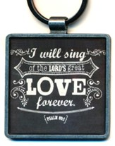Love, Retro Keyring