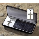 Man of God Cross Necklace