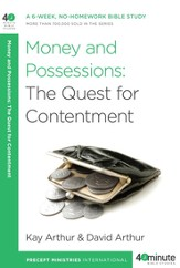 Money and Possessions: The Quest for Contentment - eBook