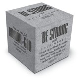 Be Strong & Courageous Scripture Block