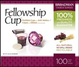 Fellowship Cup Prefilled Communion  Cups, Box of 100
