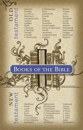 Books of the Bible, Postcards, 25