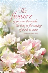 The Flowers Appear (Song of Solomon 2:12) Bulletins, 100