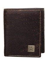 Three Crosses, Leather Wallet, Brown