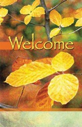 Welcome, Autumn Leaves, Bulletins, 100
