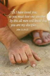 As I Have Loved You (John 13:34-35) Bulletins, 100