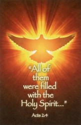 Filled with the Holy Spirit (Acts 2:4), Bulletins, 100