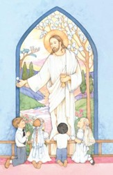 Christ With Children Kneeling, Bulletins, 100