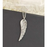 Angel Wing Necklace, Long