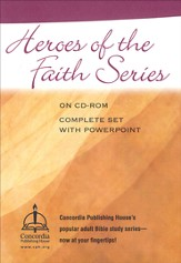 Heroes of the Faith Bible Study Collection on CDROM