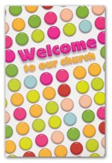 Welcome to our Church (Psalm 126:3, NIV) Welcome Folder, 12