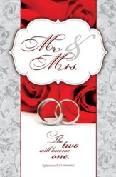 Mr. and Mrs. (Ephesians 5:31, NIV) Bulletins, 100
