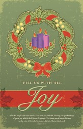 Advent Joy, Bulletins, 100